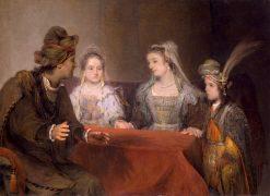 Edna Entrusting Tobias with Sarah | Aert de Gelder | Oil Painting