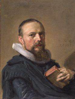 Portrait of Samuel Ampzing | Frans Hals | Oil Painting