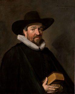 Portrait of Conradus Vietor | Frans Hals | Oil Painting