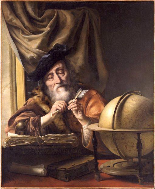 Scholar in His Study   Sir Godfrey Kneller