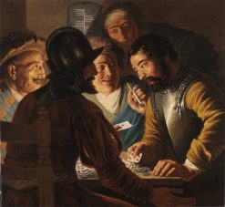 Card Players | Jan Lievens | Oil Painting
