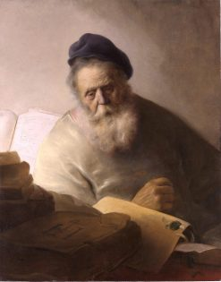 Bookkeeper at His Desk | Jan Lievens | Oil Painting