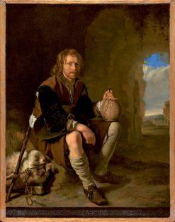 Traveler at Rest | Frans van Mieris the Elder | Oil Painting