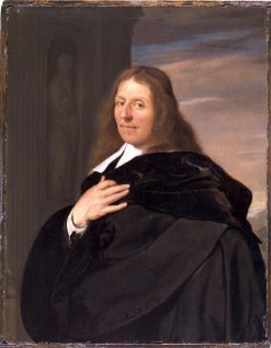 Portrait of a Fifty-Two Year Old Man | Frans van Mieris the Elder | Oil Painting