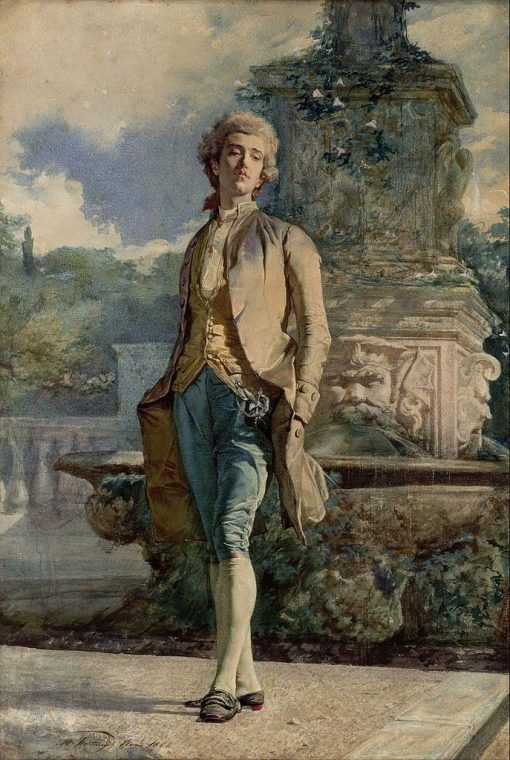 Il contino | Mariàno Fortuny y Marsal | Oil Painting