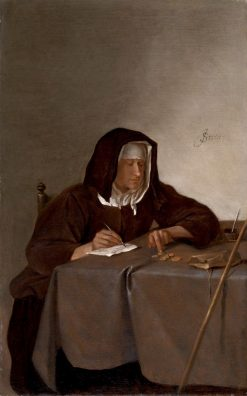 Woman Counting Coins | Jan Havicksz. Steen | Oil Painting