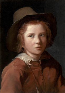 Portrait of a Young Boy with a Hat | Michiel Sweerts | Oil Painting