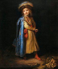 Boy in Polish Costume | Caspar Netscher | Oil Painting