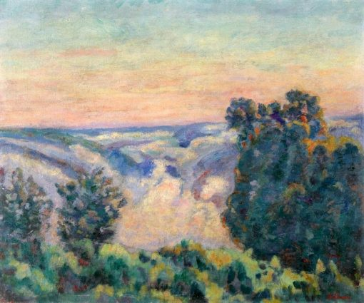 Sunrise in the Fog | Armand Guillaumin | Oil Painting