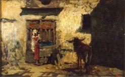 Arab Courtyard | Mariàno Fortuny y Marsal | Oil Painting