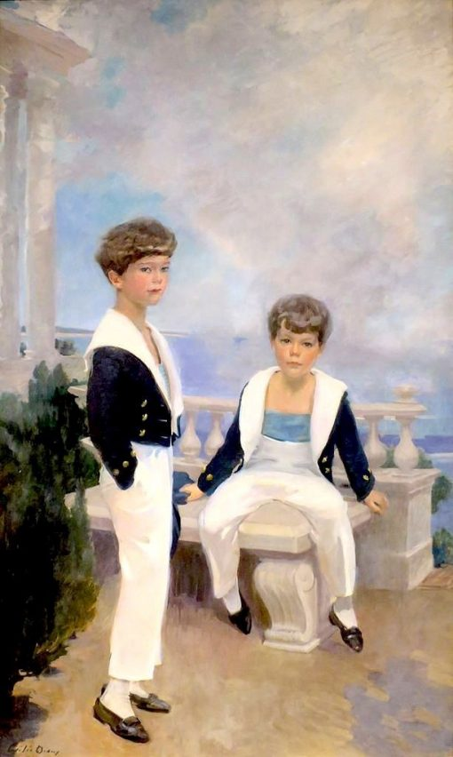 The Velie Boys | Cecilia Beaux | Oil Painting
