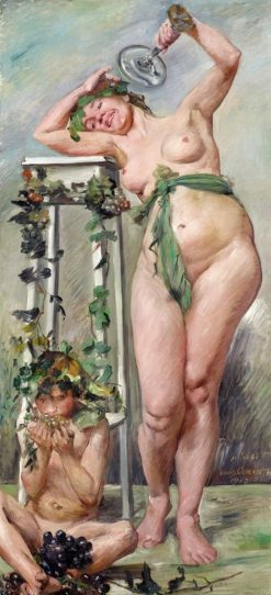 Bacchante | Lovis Corinth | Oil Painting