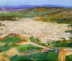 A View of Fez | Sir John Lavery