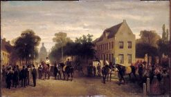 Horse Show in Plantage | Charles Rochussen | Oil Painting