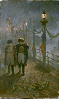Anno 1811. Napoleon in Amsterdam | Charles Rochussen | Oil Painting