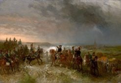 Battle of Castricum | Charles Rochussen | Oil Painting