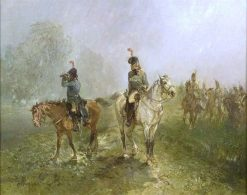 Riders on Reconnaissance | Charles Rochussen | Oil Painting