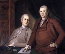 Gouverneur Morris and Robert Morris | Charles Willson Peale | Oil Painting
