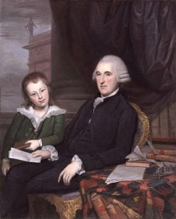 Chief Justice Thomas McKean and His Son