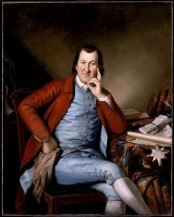 Timothy Matlack | Charles Willson Peale | Oil Painting