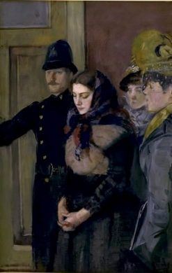 Albertine | Christian Krohg | Oil Painting