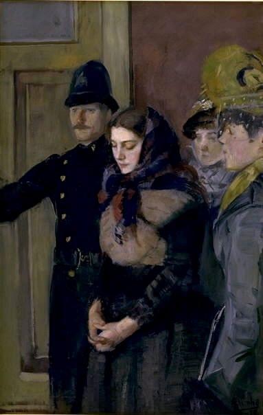 Albertine | Christian Krohg | Oil Painting