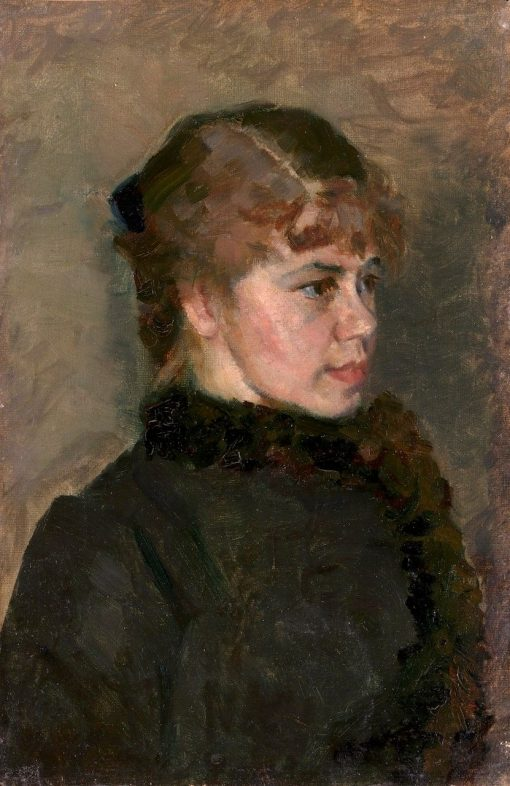Dear Lady | Christian Krohg | Oil Painting