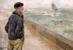A French Sailor | Christian Krohg | Oil Painting