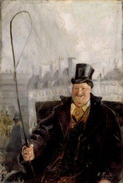Parisian Coachman   Christian Krohg   Oil Painting