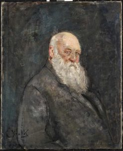 Self-Portrait   Christian Krohg   Oil Painting