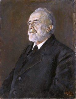 Portrait of Sofus Arctander   Christian Krohg   Oil Painting