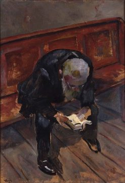 Before Preaching | Christian Krohg | Oil Painting