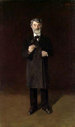 Prime Minister Johan Sverdrup   Christian Krohg   Oil Painting