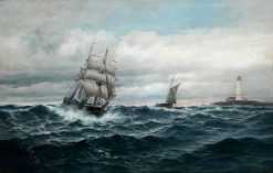Under Full Sail | Martin Aaraard | Oil Painting