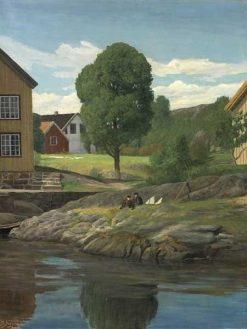 Borøen | Martin Aaraard | Oil Painting