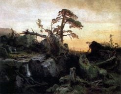 Decaying Forest | Herman August Cappelen | Oil Painting
