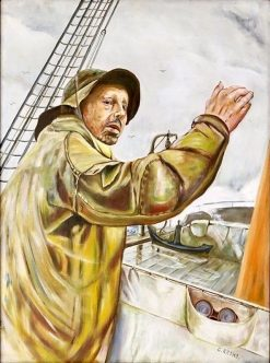 Fisherman | Christian Krohg | Oil Painting