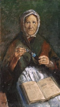 Old Wife   Christian Krohg   Oil Painting