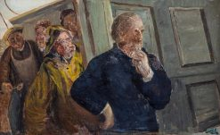 Fishermen | Christian Krohg | Oil Painting
