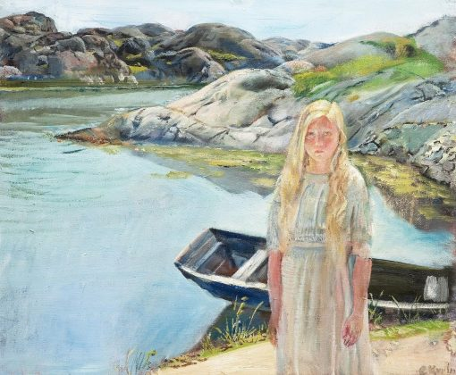Child | Christian Krohg | Oil Painting