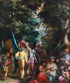 A Scene from the Old Testament | Abraham Bloemaert | Oil Painting