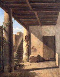 A Sunlit Passage | Eugene Verboeckhoven | Oil Painting