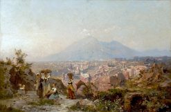 Maidens on a Hill Overlooking Pompeii