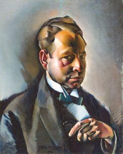 Male Portrait | Vilmos Aba-Novák | Oil Painting