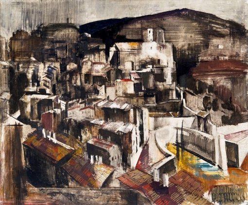 Perugia | Vilmos Aba-Novák | Oil Painting