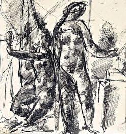 Nudes | Vilmos Aba-Novák | Oil Painting