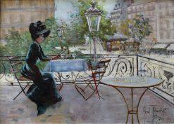 The Place Pigalle in Paris | Louis Abel-Truchet | Oil Painting