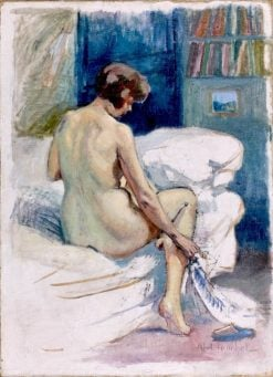 Seated Nude | Louis Abel-Truchet | Oil Painting