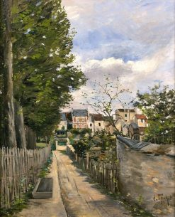 Tree Lined Alley | Louis Abel-Truchet | Oil Painting