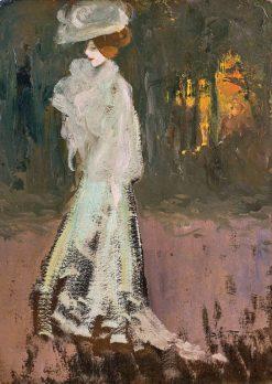 Elegant Woman | Louis Abel-Truchet | Oil Painting